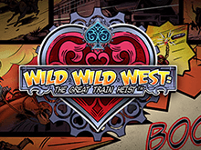 Автомат Wild Wild West: The Great Train Heist на деньги